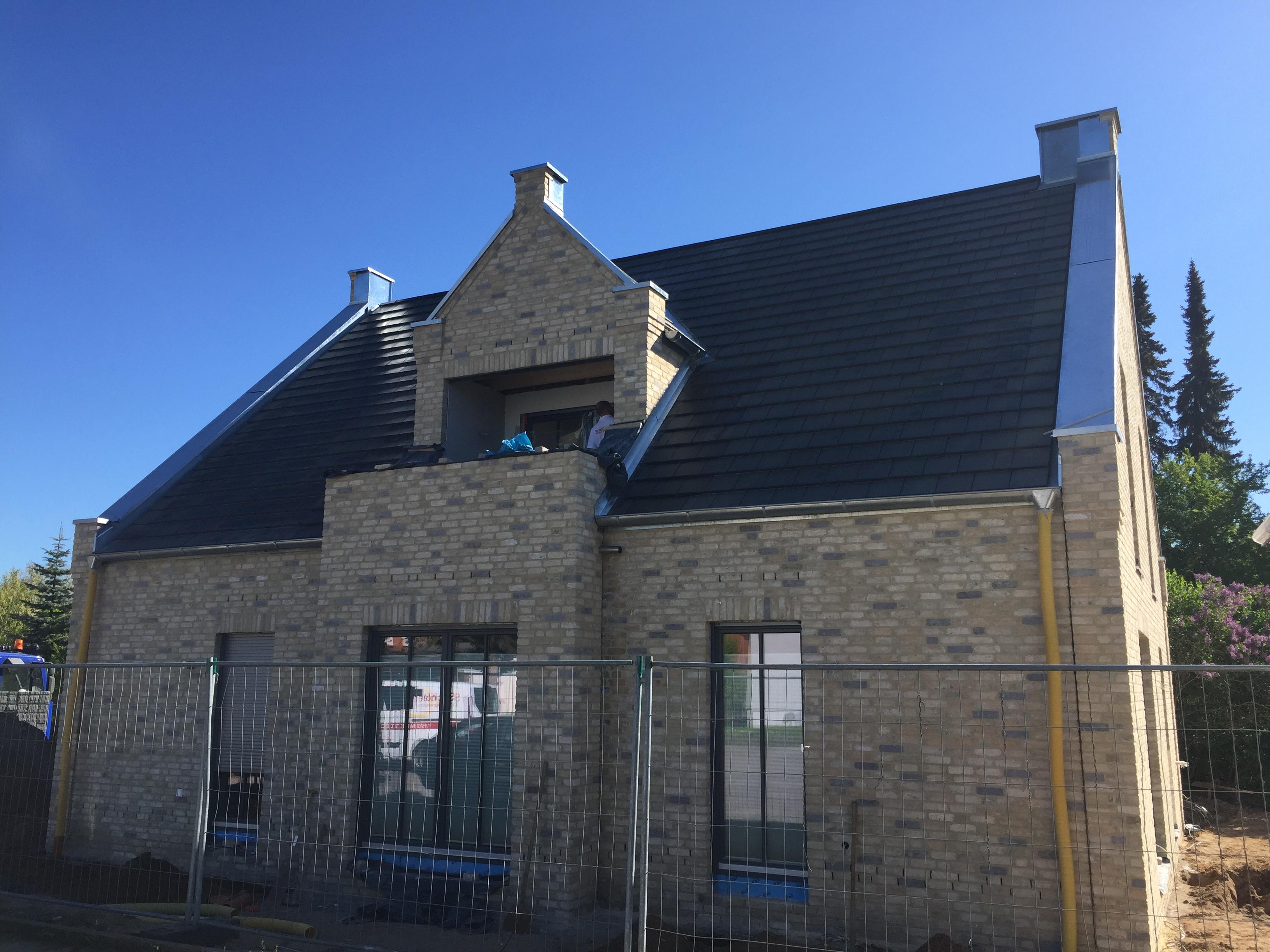 Neubau eines Einfamilienhauses in Holzrahmenbauweise  in Lübeck 2017/18