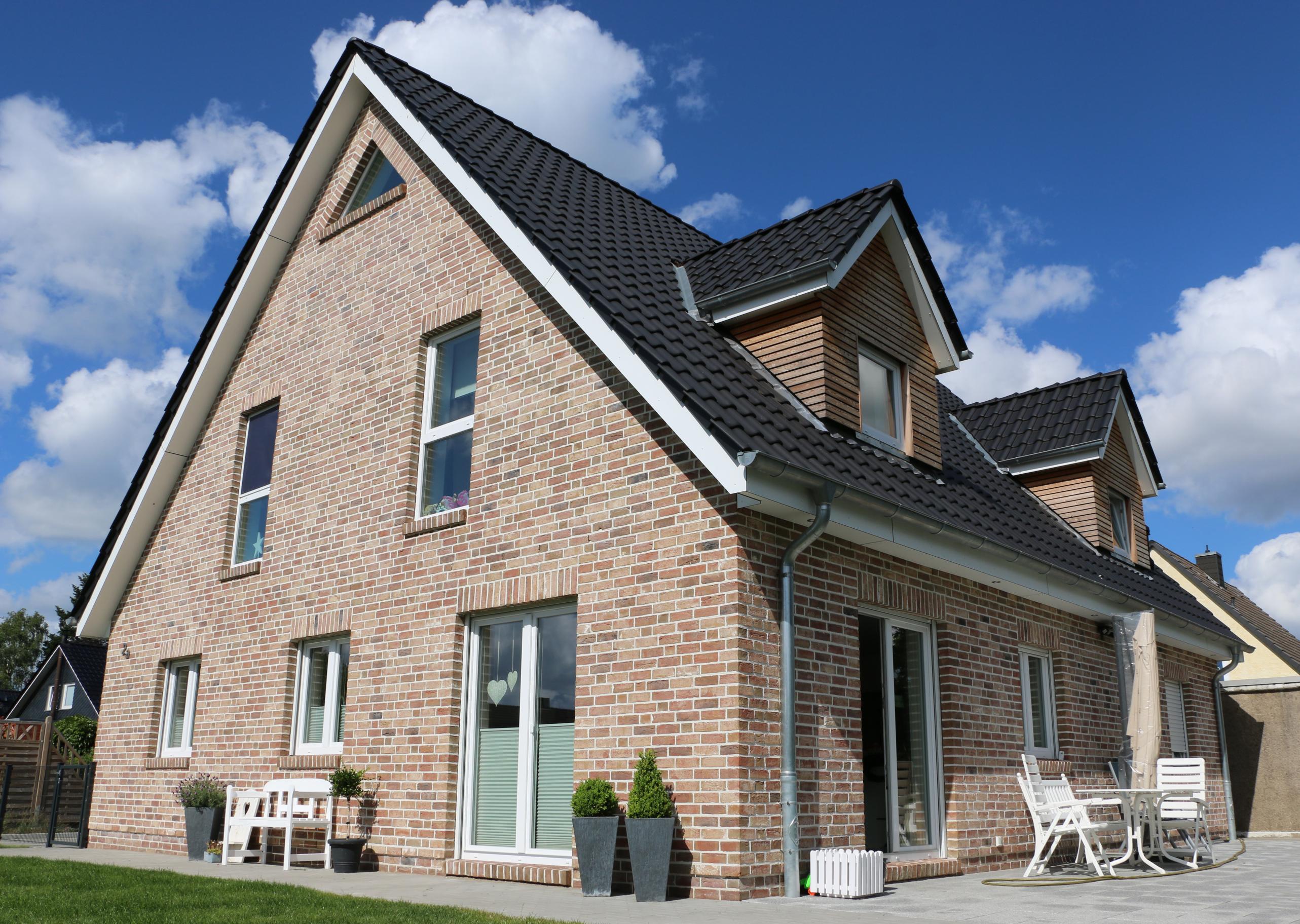 Neubau eines Einfamilienhauses  in Hamberge 2015