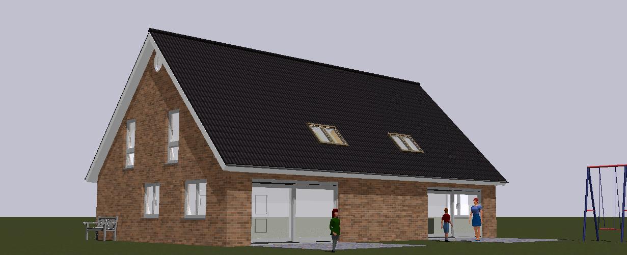 Neubau von zwei Doppelhäusern in  Schenefeld 2019