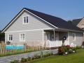 Neubau eines Einfamilienhauses in Holzrahmenbauweise 2016/17